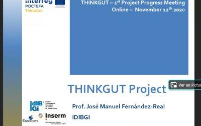 El proyecto ThinkGut avanza según las previsiones y ya se pueden valorar algunos progresos