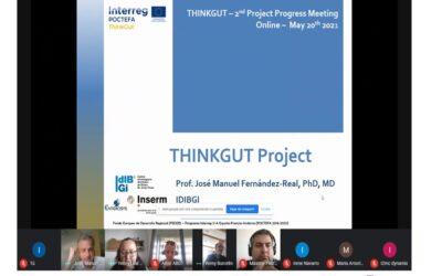 La segunda reunión de seguimiento del proyecto ThinkGut muestra como el proyecto avanza con éxito